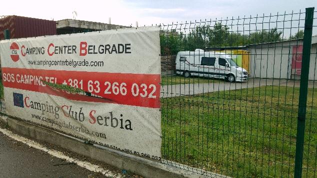 Camping Clup Serbia, Belgrad