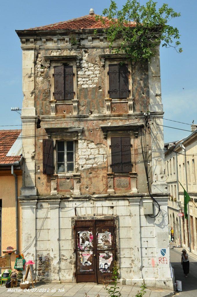 Mostar savaşın izleri