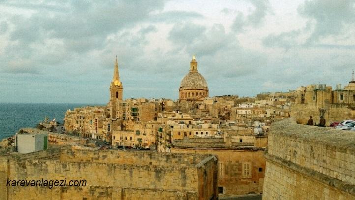 Valletta. Malta gezilecek yerler