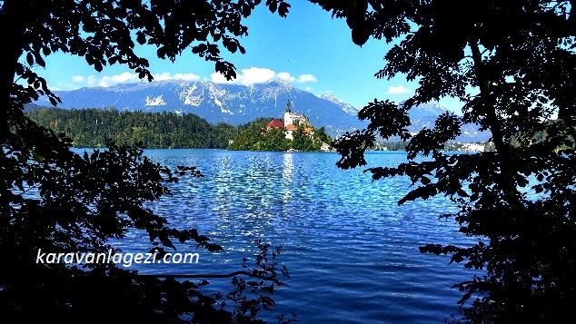 Bled Göl ve ada