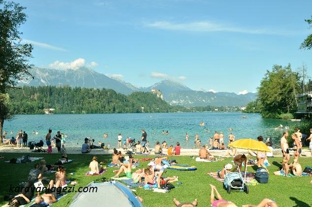 Camping Bled bölgesi