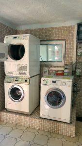 Camping Nord-Sam çamaşır yıkama