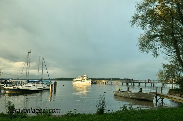 Chiemsee gölü adalar gezi teknesi