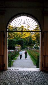 Mirabell Sarayı, kapı