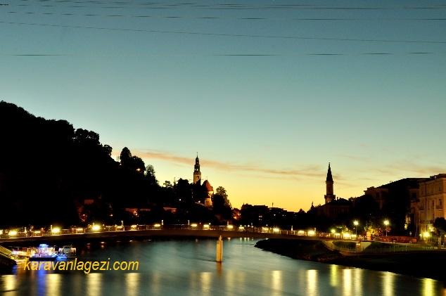 Salzburg, Salzach nehri