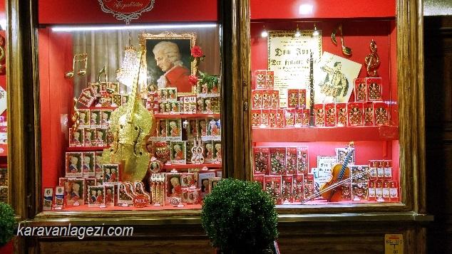 Salzburg, Mozart, cikolata