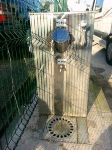Zagrep karavanpark kimyasal tuvalet boşaltma