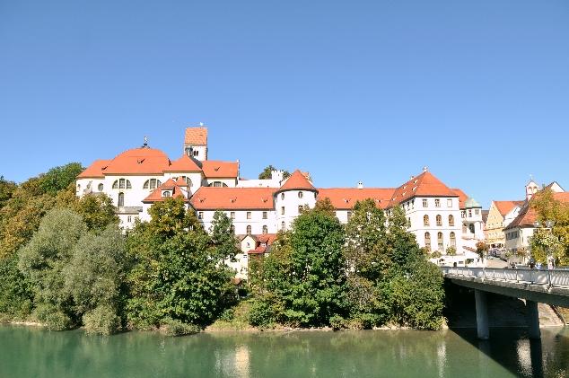 Füssen ve Lech Nehri
