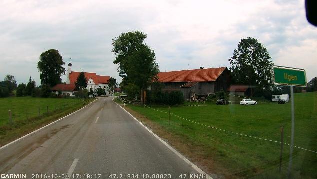 Araç kamerası, yol