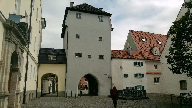 Landsberg am Lech giriş kapısı