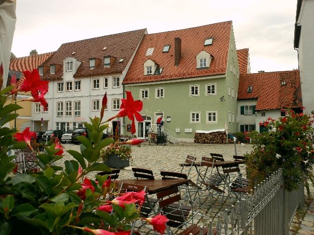 Landsberg am Lech küçük meydan