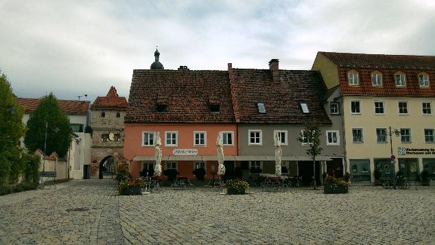 Landsberg am Lech merkeze doğru