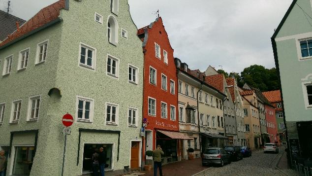 Landsberg am Lech sokaklar