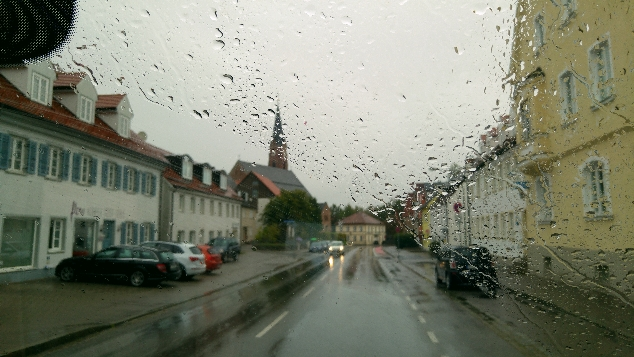 Landsberg am Lech yağmur