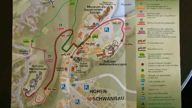 Neuschwanstein harita